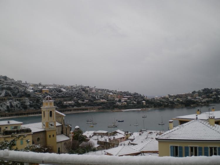 Neige à Saint Jean