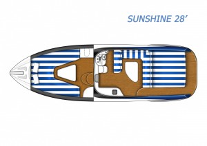 Sunshine 28' interno