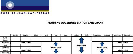 OUVERTURE STATION CARBURANT 2014