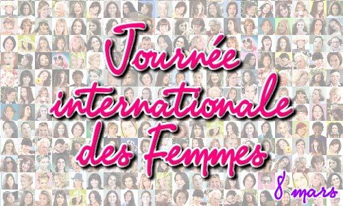 8 MARS JOURNÉE DE LA FEMME