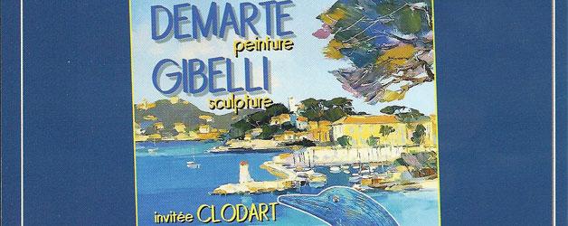 DEMARTE-GIBELLI-CLODART EXPOSITION