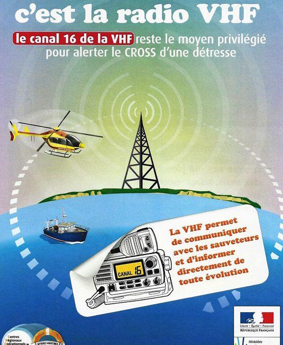 SÉCURITÉ VHF