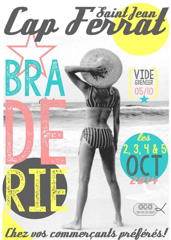 BRADERIE ST JEAN CAP FERRAT 2 AU 5 OCTOBRE 2014