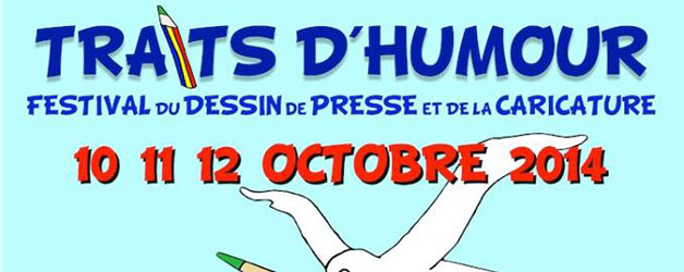 FESTIVAL TRAITS D'HUMOUR 10 11 12 OCTOBRE 2014