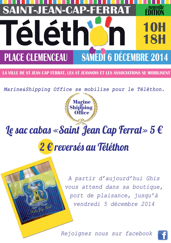 TELETHON A SAINT JEAN CAP FERRAT